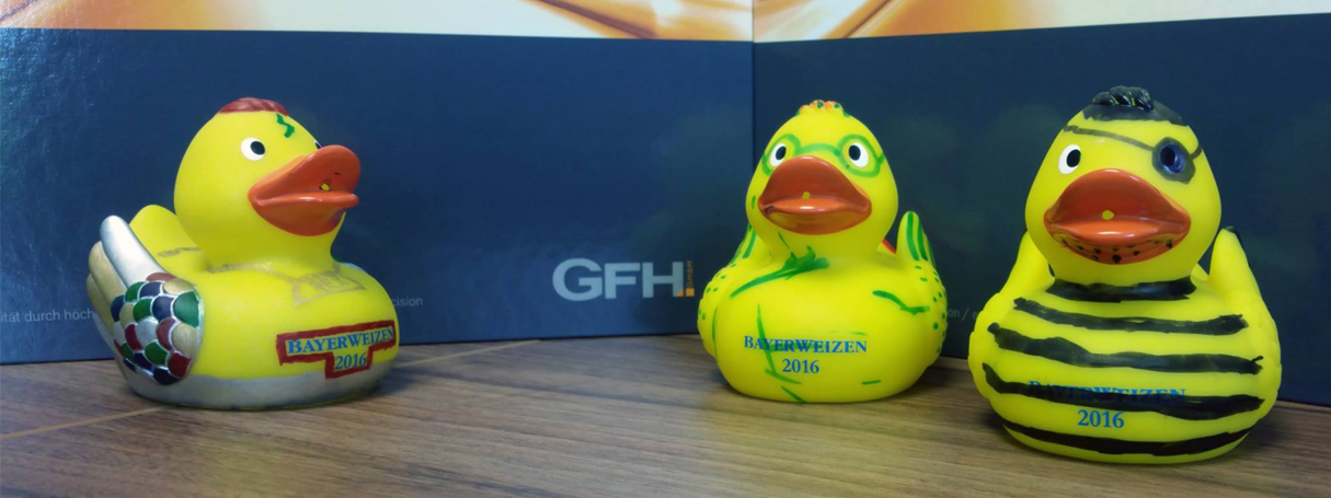 Duck race, Montessori and the GFH GmbH