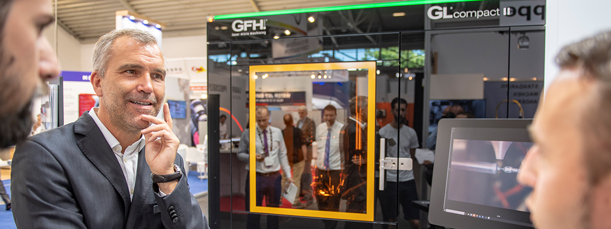GFH GmbH meets LASER World of Photonics Munich
